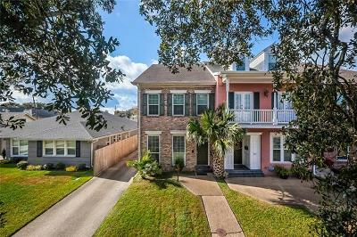 New Orleans Townhouse For Sale: 7040 Canal Boulevard