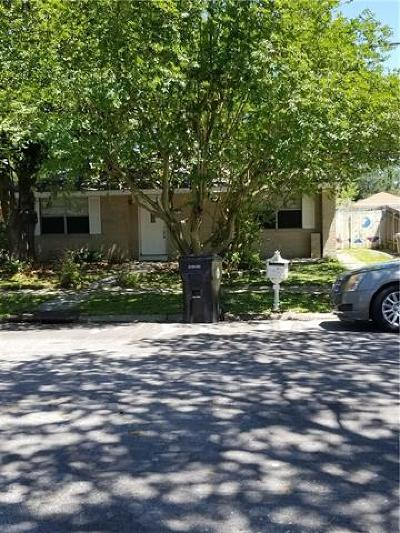 Single Family Home For Sale: 2834 Mercedes Boulevard