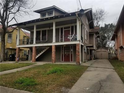 New Orleans Multi Family Home For Sale: 1831 S Dupre Street