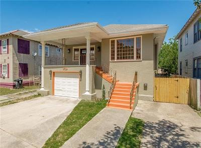 New Orleans Single Family Home For Sale: 3719 Louisiana Ave. Parkway