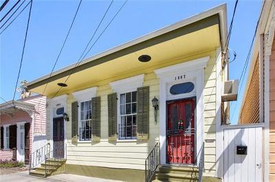 New Orleans Multi Family Home For Sale: 1805-1807-1807 (B) Burgundy Street