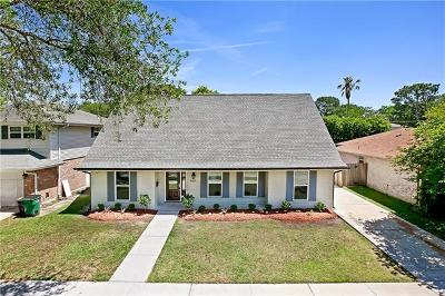 Metairie Single Family Home For Sale: 4313 N. Turnbull Drive