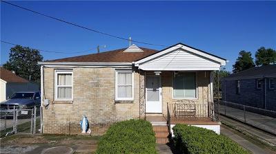 Marrero Single Family Home For Sale: 505 Eiseman Avenue