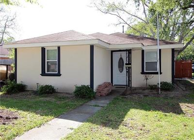 Kenner Single Family Home For Sale: 1435 Taylor Street
