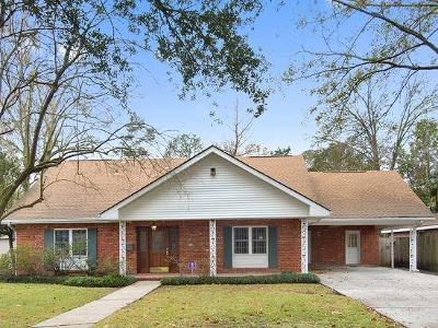 River Ridge, Harahan Single Family Home For Sale: 9416 Citrus Lane