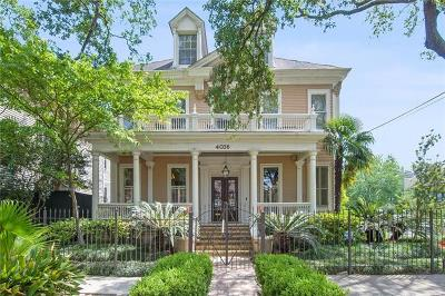 Single Family Home For Sale: 4036 St Charles Avenue