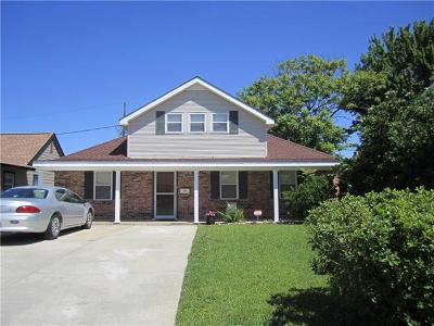 Marrero Single Family Home For Sale: 4029 Fir Court