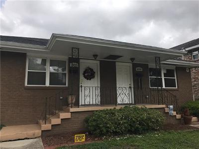 New Orleans Multi Family Home For Sale: 6909 Fleur De Lis Drive