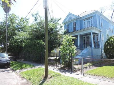 New Orleans Single Family Home For Sale: 2110-12 Marengo Street