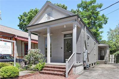 New Orleans Single Family Home For Sale: 7921 Maple Street