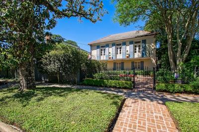 New Orleans Single Family Home For Sale: 1316 Valence Street