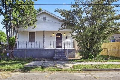 New Orleans Single Family Home For Sale: 1020 Pelican Avenue