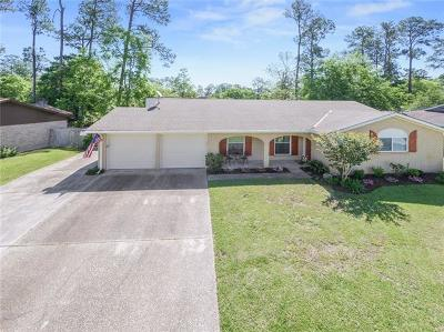 Slidell Single Family Home For Sale: 1545 Wildwood Lane