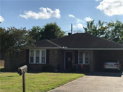 Destrehan, St. Rose Single Family Home For Sale: 119 Dianne Drive