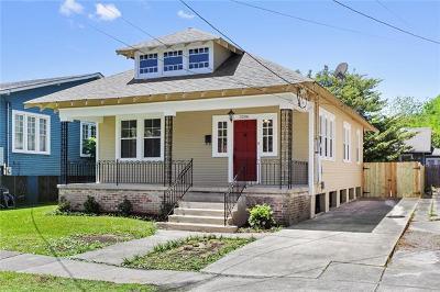 New Orleans Single Family Home For Sale: 3206 Upperline Street