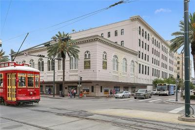 New Orleans Condo For Sale: 1201 Canal Street #258
