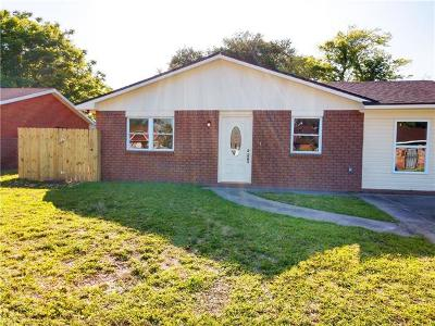 Single Family Home For Sale: 3421 Bacchus Drive