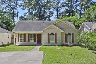 Slidell Single Family Home For Sale: 4174 Toulouse Street