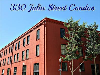 New Orleans Condo For Sale: 330 Julia Street #PH10