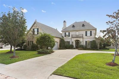 Mandeville LA Single Family Home For Sale: $669,000