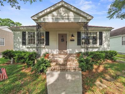 Metairie Single Family Home For Sale: 552 Elmeer Avenue