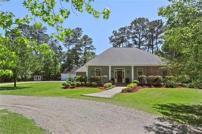 Slidell Single Family Home For Sale: 144 Forest Circle