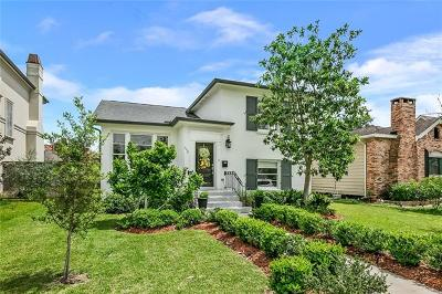New Orleans Single Family Home For Sale: 6139 Louis Xiv Street