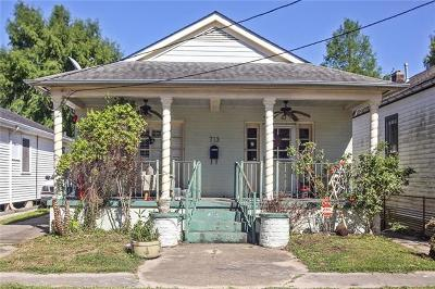 New Orleans Single Family Home For Sale: 713 Pauline Street
