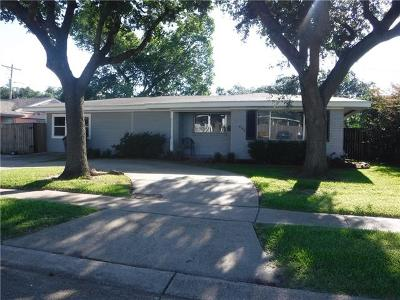 Single Family Home For Sale: 4109 Bissonet Drive