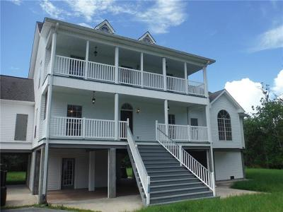 Jefferson Parish Single Family Home For Sale: 1227 Jean Lafitte Boulevard
