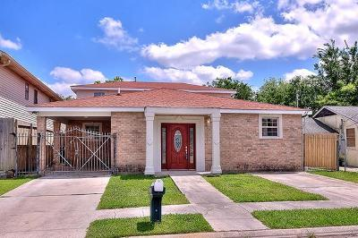 New Orleans Single Family Home For Sale: 4335 Cartier Avenue
