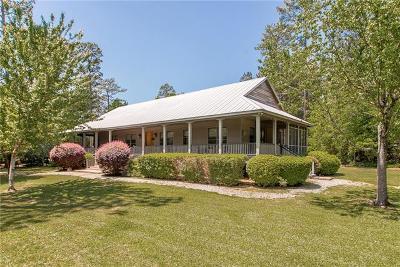 Covington Single Family Home For Sale: 24355 Lowe Davis Road
