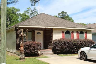 Slidell Single Family Home For Sale: 62021 N 7th Street