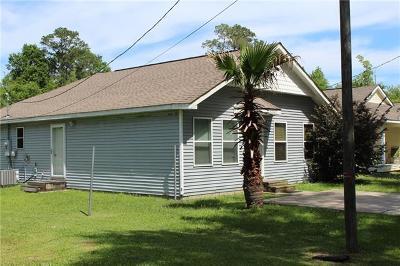 Slidell Single Family Home For Sale: 62027 N 7th Street
