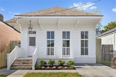 New Orleans Single Family Home For Sale: 4021 Danneel Street