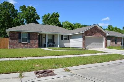 Marrero Single Family Home For Sale: 5860 Anderson Place