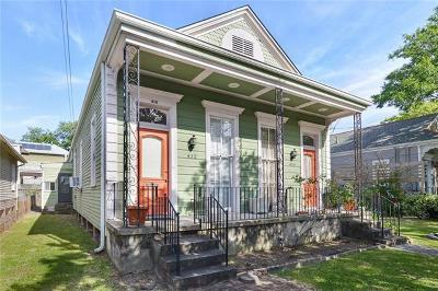 New Orleans Multi Family Home For Sale: 412 Webster Street