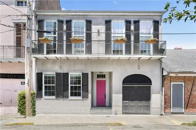 New Orleans Single Family Home For Sale: 1415 Chartres Street