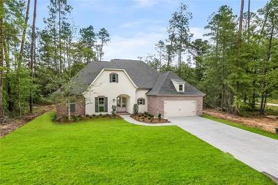 Mandeville Single Family Home For Sale: 216 Chateau Papillion Drive