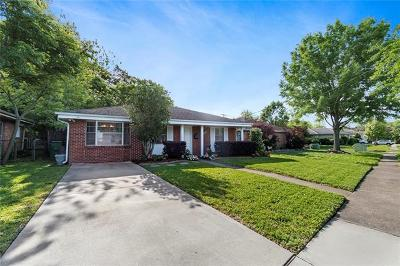 Metairie Single Family Home Pending Continue to Show: 3905 Lake Villa Drive