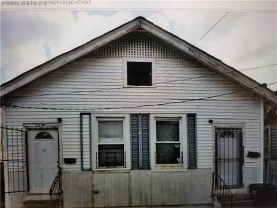 New Orleans Multi Family Home For Sale: 2126 Fourth Street