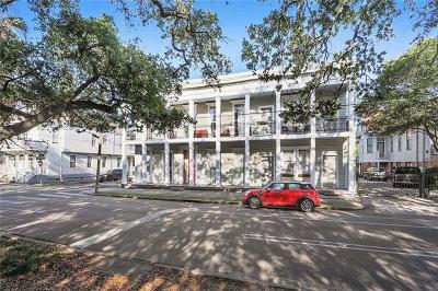 Jefferson Parish, Orleans Parish Condo For Sale: 1544 Camp Street #4