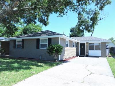 Marrero Single Family Home For Sale: 2621 Taffy Drive