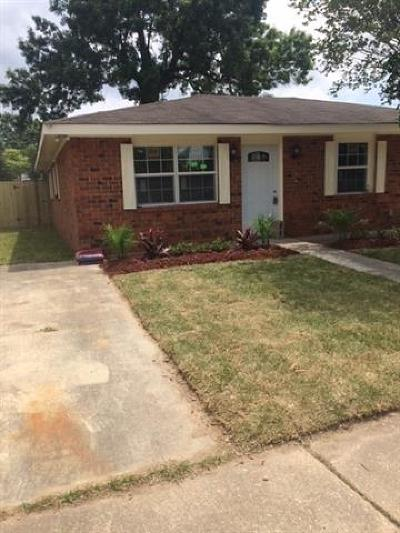 Single Family Home For Sale: 2820 Bacchus Drive