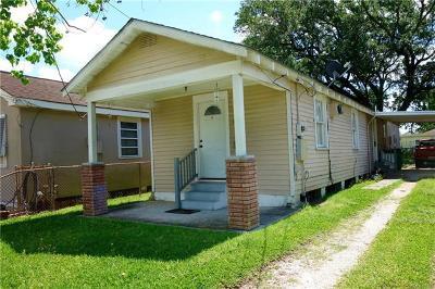 Westwego Single Family Home For Sale: 641 Avenue F Avenue
