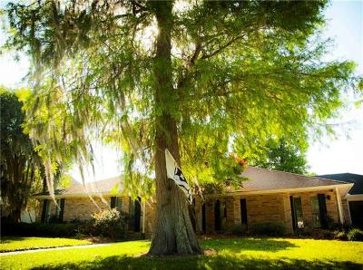 Destrehan, St. Rose Single Family Home For Sale: 2321 Ormond Boulevard