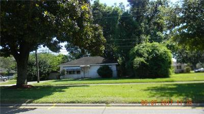 Kenner Single Family Home For Sale: 1108 William Boulevard