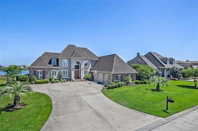 Slidell Single Family Home For Sale: 1477 Lakeshore Boulevard