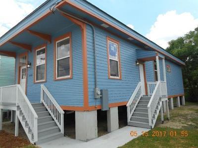 Single Family Home For Sale: 2420 Gravier Street