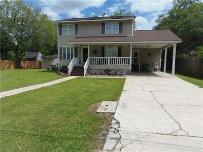 Marrero Single Family Home For Sale: 5141 Pitre Drive